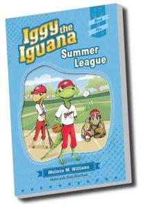 Iggy the Iguana, author, creativity literacy expert, school visits